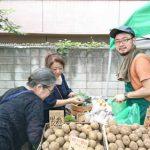 農と食で地域がつながる!田心マルシェ 〜真夏の秋葉神社にて賑やかに開催〜